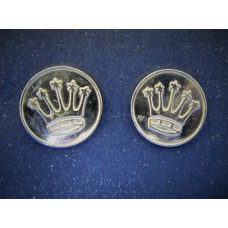 Silver Crown Cufflinks