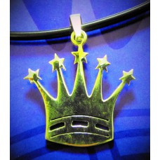 Silver Crown Pendant