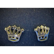 Silver Crown Studs