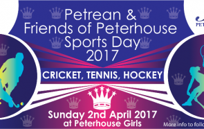 Next Petrean Event - Petrean Sports Day - 2nd April 2017