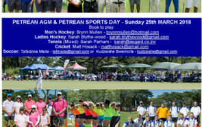 Petrean Events 2018 - Save the Date