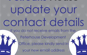 Petreans - Please update your contact details